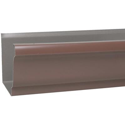 Amerimax 5 In. x 10 Ft. K-Style Brown Galvanized Gutter