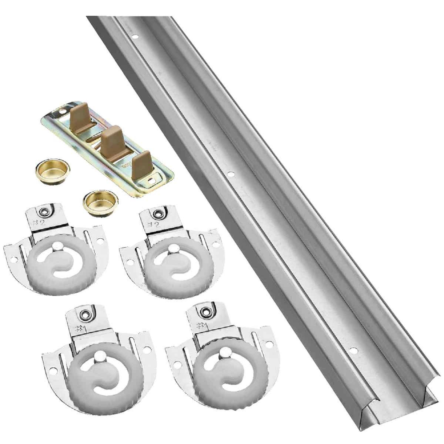 National 60 In. Bypass Door Hardware Image 1