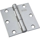 National 3 In. Square Plain Steel Broad Door Hinge Image 1