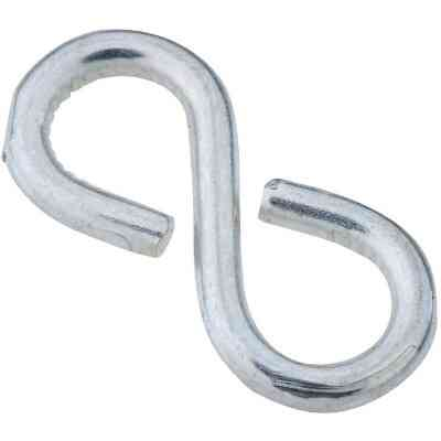 National 1-1/8 In. Zinc Light Closed S Hook (6 Ct.)