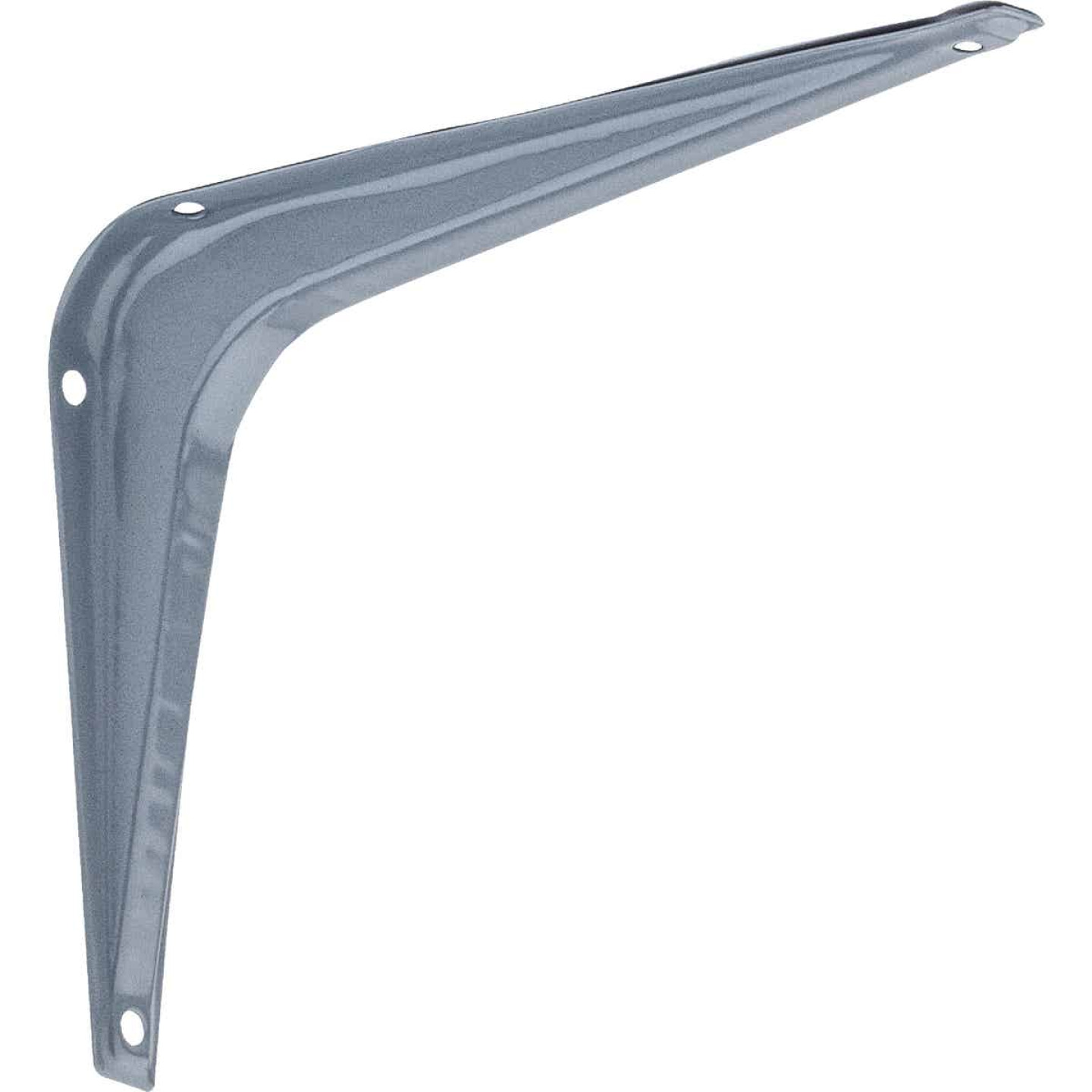 National 211 5 In. D. x 6 In. H. Gray Steel Shelf Bracket Image 1