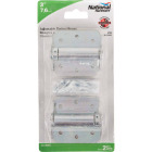 National 3 In. Zinc Plated Full-Surface Spring Door Hinge (2-Pack) Image 2