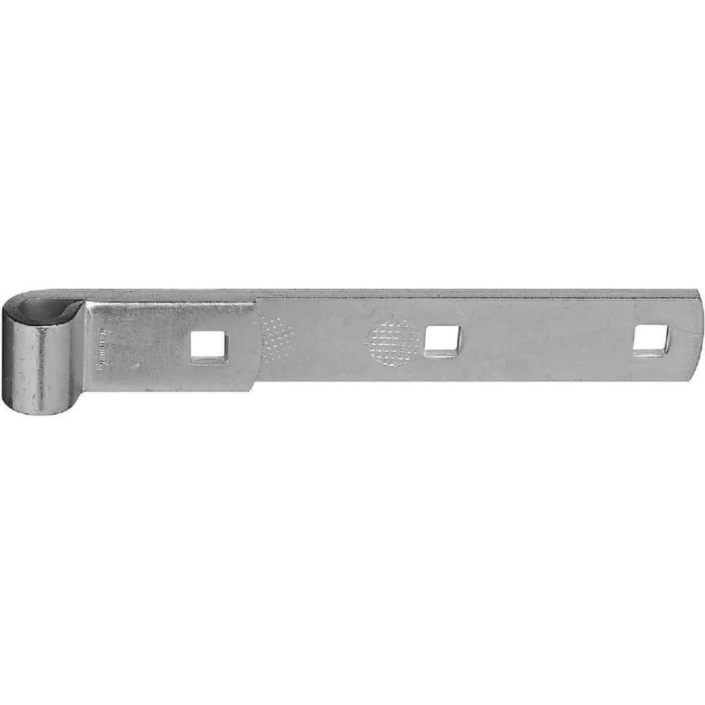 National 8 In. Zinc Hinge Strap Image 1