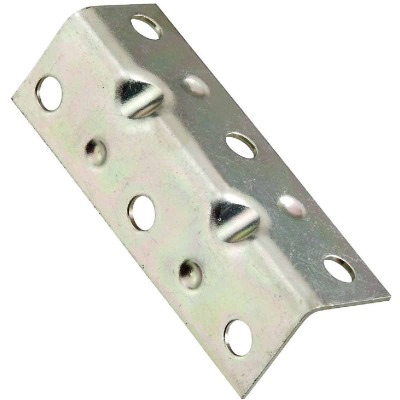 National Catalog V113 Series 2-1/2 In. x 3/4 In. Zinc Corner Brace (4-Count)
