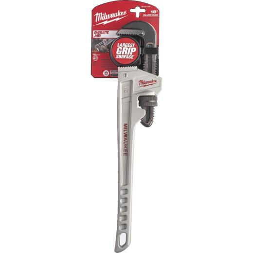 Milwaukee 18 In. Aluminum Pipe Wrench