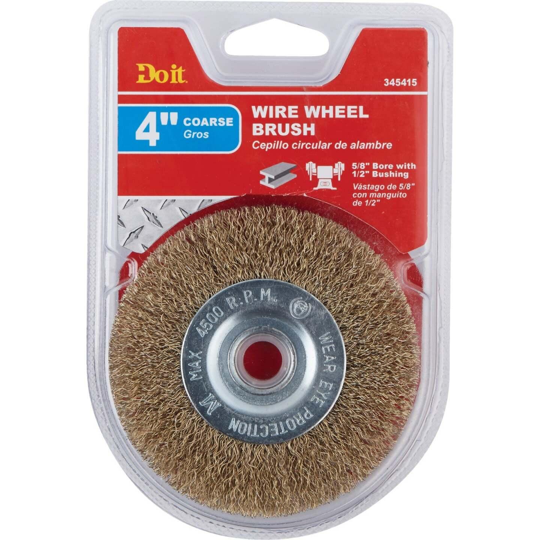 Do it 4 In. Coarse Bench Grinder Wire Wheel Image 2