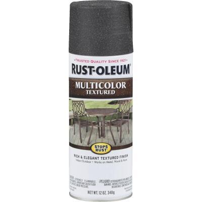 Rust-Oleum Stops Rust MultiColor 12 Oz. Textured Spray Paint, Aged Iron