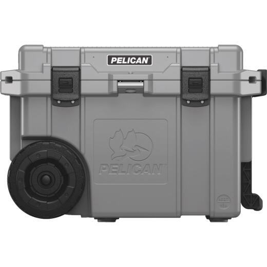 Pelican Elite 45 Qt. 2-Wheeled Cooler, Dark Gray