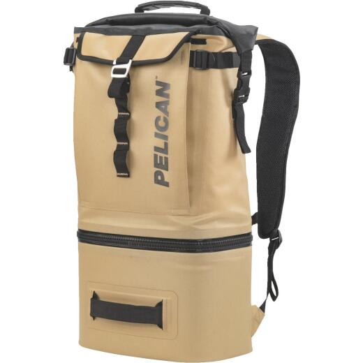 Pelican Dayventure Coyote Soft-Side Backpack Cooler (6-Can)