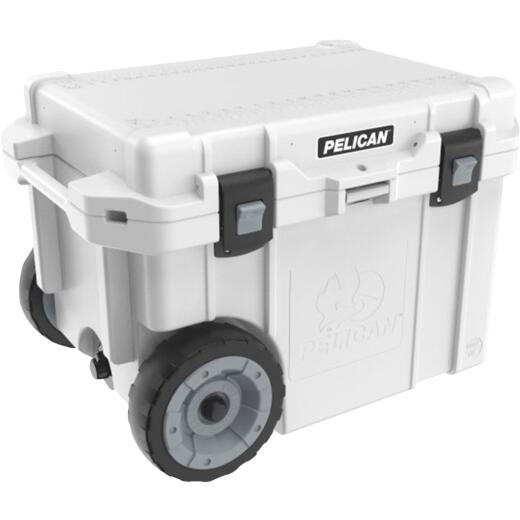 Pelican Elite 45 Qt. 2-Wheeled Cooler, White