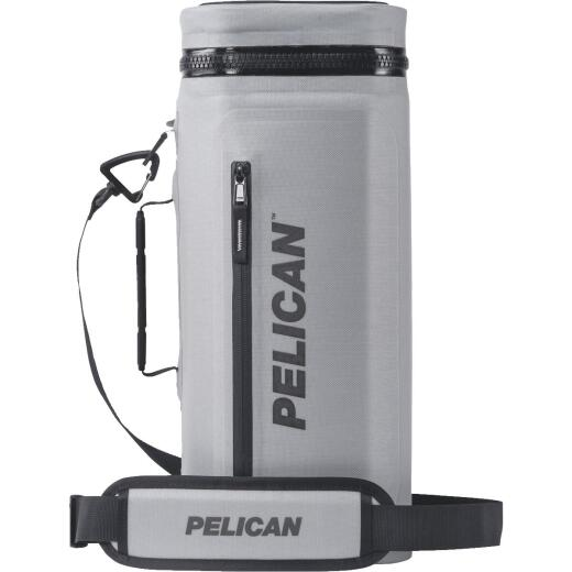 Pelican Dayventure Light Gray Soft-Side Sling Cooler (12-Can)